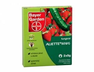 Aliette - produk pre ochranu rastlín proti hubám