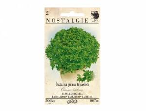 Bazalka pravá trpasličí 200 semien