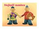 Blahopřání otevírací PaM MAMINCE A5--------