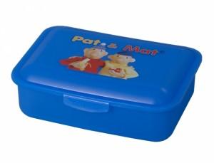 Box na svačinu PaM 16x12x5cm/střední-modrý/potisk