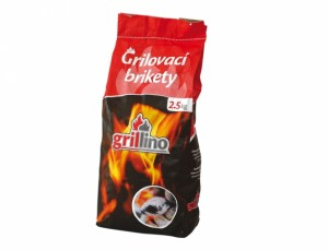Brikety Grillin 2,5 kg