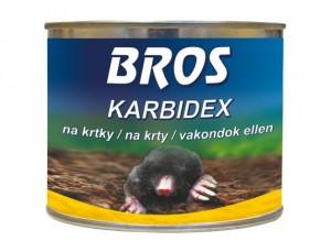 BROS Karbidex- granulovaný prostředek proti krtkům, 500g