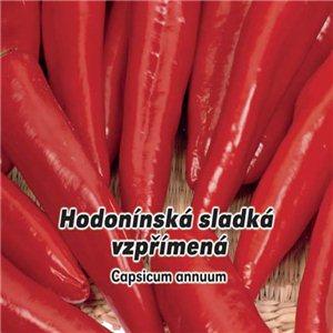 Paprika koreninová sladká - Hodonínská vzpriamená (zelenina: Capsicum annuum) 0,6 g osiva papriky