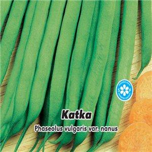 Fazuľa kríčková - zelený - Katka - (Phaseolus vulgaris var. Nanus) 20 g semien