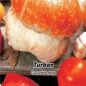 Okrasné tykvičky - Turban - semena 3 g