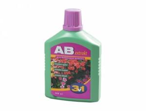 Hnojivo pro balkonové květiny AB extrakt