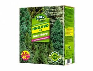Hnojivo na konifery 2,5 kg - AG Biomin