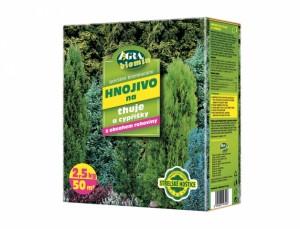 Hnojivo na Thuje a Cypřišky 2,5 kg - AG Biomin