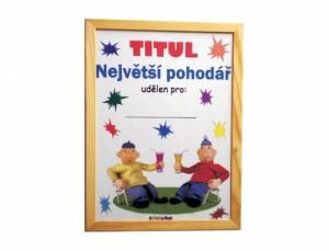 Diplom Pat a Mat Největší pohodář