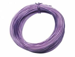 Drôt hliníkový dekoračný 10m / 2,0 mm / levanduľový