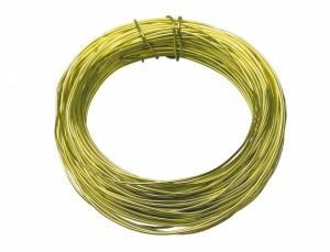 Drôt hliníkový dekoračný 10m / 2,0 mm / sv.zelená