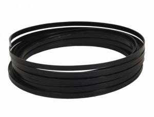 Drôt hliníkový dekoračné pl.10m / 5,0 mm / čierny