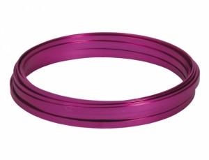 Drát hliníkový dekorační pl.10m/5,0mm/růžový
