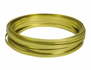Drôt hliníkový dekoračné pl.10m / 5,0 mm / sv.zel.