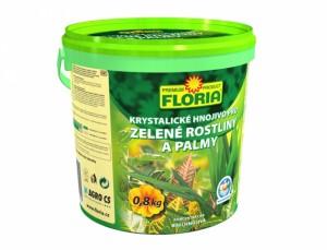 Floria Kryštalické hnojivo zelené rastliny 800g