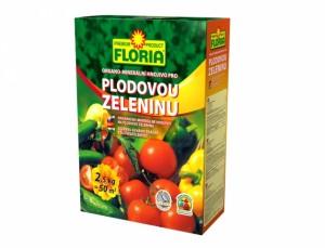 Floria Organo - minerální hnojivo plodová zelenina 2,5kg
