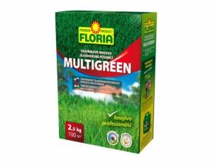 Floria - hnojivo na trávník - DL MULTIGREEN 2,5kg