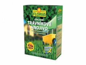 Floria - hnojivo na trávník - základní hořčík 2.5kg