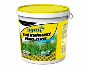 Hnojivo Agro Trávníkové hnojivo plastový  kbelík 10 kg
