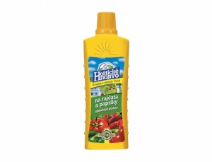 Hoštické hnojivo na rajčata a papriky s guánem 500ml