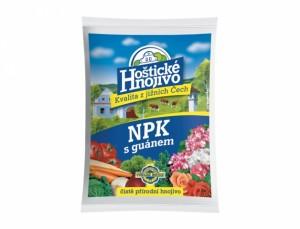 Hoštické hnojivo NPK s guánem 1kg