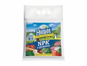 Hoštické hnojivo NPK s guánem 2,5kg