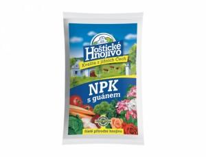 Hoštické hnojivo NPK s guánem 5kg