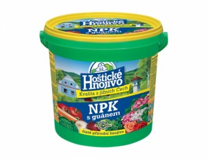Hoštické NPK s guánem 8kg kyblík
