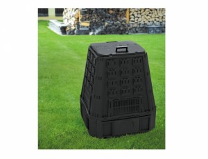 Kompostér 600 l čierny
