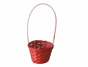 Košík s uchem d11cm /oranžový