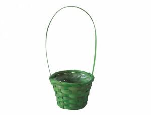Košík s uchem d11cm zelený