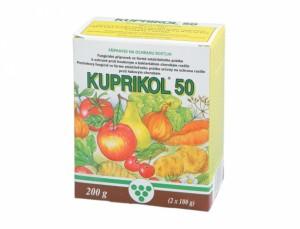 Kuprikol - fungicidní postřik -50 2x100g