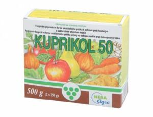 Kuprikol - fungicidní postřik -50 500g