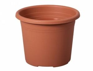 Kvetináč cylindra d25cm/teracota