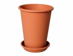 Kvetník KONIS d16cm / s Podmiska