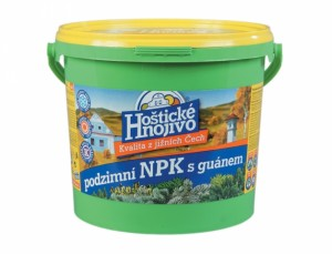 NPK s guánem (podzim) 4,5kg