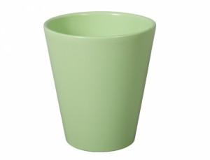 Kvetník Catley CITRUS d15cm/sv.zelená lesk /