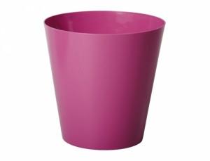 Obal na květináč  CLIVO ORCHIDEA d11cm/růžová/