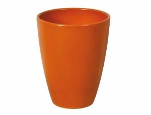 Květník FALENOPSIA TRADICO d13cm/tm.oranžová lesk/