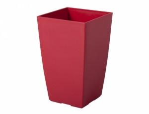 Obal na květináč  FANTAZIE 13x13cm/červená