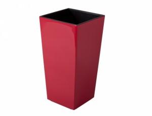 Obal na květináč  FANTAZIE DEKOR 25x25cm/červená