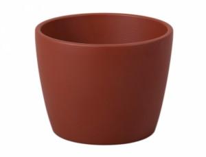 Květník GUZMANIA WOOD d17cm/ hnědý