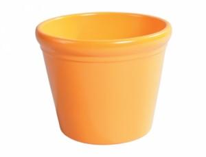 Květník KALA PICASO d14cm/oranžový lesk