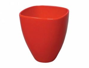 Květník MILTONIA FRUIT 14x14cm/červená lesk/