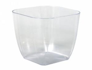 Obal PAGANINI SQUARE 18x18cm/plastový transparentní