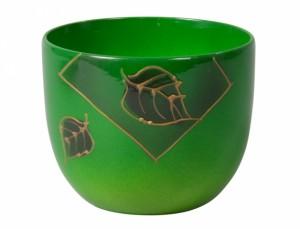 Obal PURKYNĚ LETTER d13cm/zelený lesk