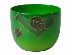 Obal PURKYNĚ LETTER d16cm/zelený lesk