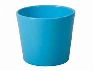 Květník SPARTA FIGARO d13cm/modrý lesk/