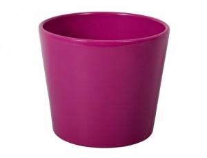 Kvetník SPARTA FIGARO d15cm/fialový lesk /