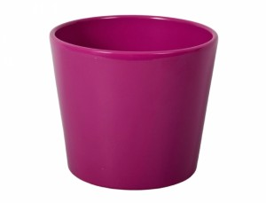 Kvetník SPARTA FIGARO d17cm/fialový lesk /